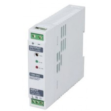 Din RAIL Power Supply, ac-dc, 30W, 1 Output 2.5A at 12Vdc