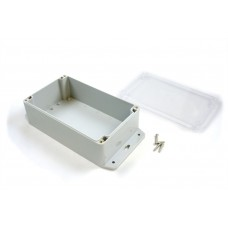 Waterproof Enclosure (200x120x75) with Transparent Lid