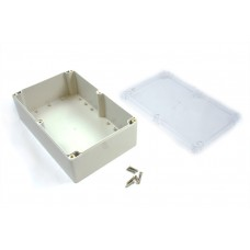 Waterproof Enclosure (230x150x85) with Transparent Lid