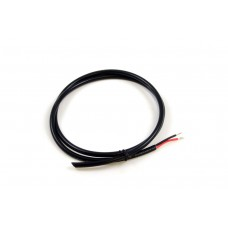 2 Conductor 16AWG Wire Black