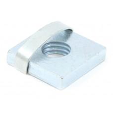 Square Nut PG40 M8 (100 pcs)