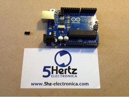 Convierte tu Arduino UNO de 5V a 3.3V